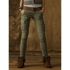 Denim & Supply Skinny Freedom Cargo Pant ($35) ❤ liked on Polyvore