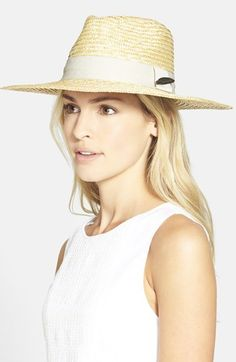 Free shipping and returns on Brixton 'Dixie' Straw Hat at Nordstrom.com. A wide ribbon band—and a dapper feather embellishment—lend suave style to a summery fedora woven in breezy straw.