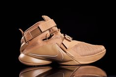 "A First Look at the Nike LeBron Zoom Soldier 9 ""Wheat"""
