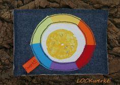 LOCKwerkE:  STOFFKARTENTAUSCH Reicht dir das Leben eine Zitrone ... mach Limonade daraus! Chicago Cubs Logo, Team Logo, Logos, Lemonade, Lemon, Life, Cards, Logo