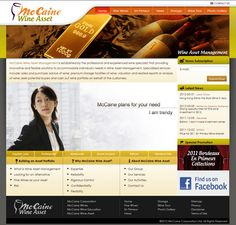 McCaine Wine Asset Management - Servicing - In Concept - Web Design and Web Hosting Company in Hong Kong Microsoft Software, Concept Web, Asset Management, Hosting Company, Wine Storage, Hong Kong, Web Design, How To Plan, Design Web