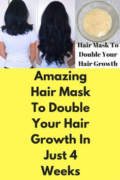 Amazing Hair Mask To Double Your Hair Growth In Just 4 Weeks Ingredients : Egg Olive oil - 1 tablespoon Coconut oil - 1 tablespoon Honey - 1 tablespoon Directions : Take a clean bowl Add 1 tablespoon olive oil, 1 tablespoon coconut oil and 1 tablespoon honey Mix it well Add 1 egg to this bowl Mix it well for consistency Apply this hair mask on your ...