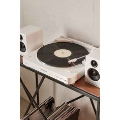 ep 33 tourne disque bluetooth swear rose avec enceintes. Black Bedroom Furniture Sets. Home Design Ideas