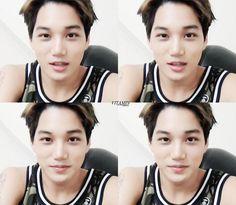 Embedded image permalink EXO Kai looking handsome #jongin