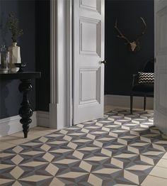 #Hydraulic #Tile #entryway, so beautiful!   Fordham Marble, Est. 1905