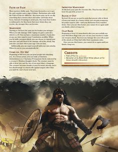 Dungeons And Dragons Races, Dungeons And Dragons Classes, Dnd Dragons, Dungeons And Dragons Characters, Dungeons And Dragons Homebrew, Dnd Characters, Fantasy Characters, Barbarian Dnd, Dnd Races