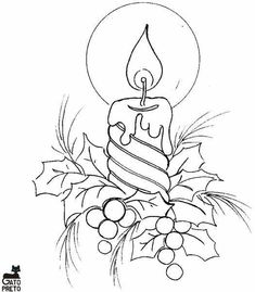 Best Drawing Christmas Ornaments Coloring Pages Ideas - Weihnachten Basteln Christmas Colors, Christmas Art, Christmas Decorations, Christmas Ornaments, Xmas, Christmas Candles, Christmas Design, Christmas Cookies, Christmas Drawing