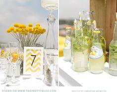 Yellow chevron  Image: Christine Meintjes