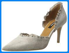 Zinda Damen 2725 Pumps, Grau (Silver) , 36 EU for sale Stiletto Heels, Peep Toe, Silver, Link, Shoes, Fashion, Self, Silver Pumps, Pumps