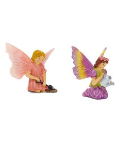 Georgetown Home And Garden Sitting Fairy Figurine