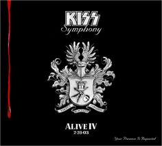 Kiss / Alive IV / 2003 Sanctuary Records Promo Poster / x / Gene Simmons Gene Simmons, Vinyl Cd, Vinyl Records, Kiss Album Covers, Kiss Songs, Detroit Rock City, Hot Band, Online Music Stores, Vinyls