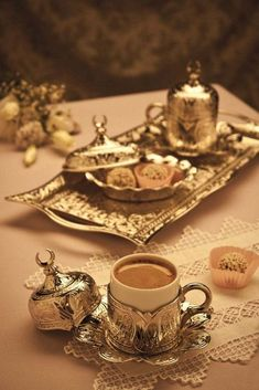What we call Greek or Turkish coffee is originally Arabic.