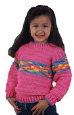 Just Right Sweater By Marilyn Coleman - Free Crochet Pattern - (redheart)