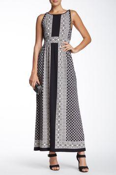 Print Maxi Dress by Max Studio on @nordstrom_rack
