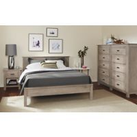 Room & Board - Bennett Bedroom Collection in Shell Finish
