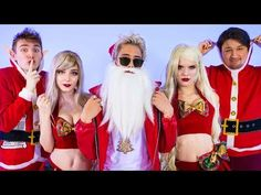 "Merry Christmas, Pinterest.  Enjoy this German music video by one of the most popular YouTube channels in Germany: ""SANTA bleibt der BOSS"" (MUSIKVIDEO) 