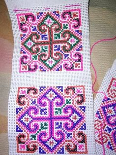 Hmong cross-stitch