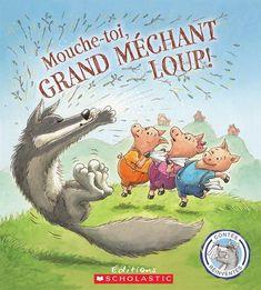Dans cette histoire, les trois petits cochons apprennent une leçonsur la propagation des microbes : le grand méchant loup est à larecherche d'un mouchoir. Quand les trois petits cochons refusentde lui en prêter un, le loup éternue si fort qu'il fait s'écroulerleurs maisons de paille et de bois. De plus, les petits cochonsattrapent son rhume...