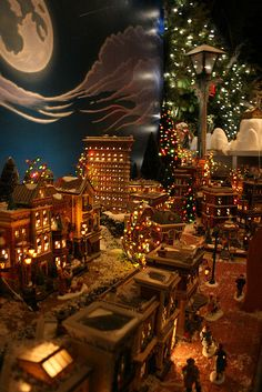 345 Best Miniature Christmas Village Images In 2019 Christmas