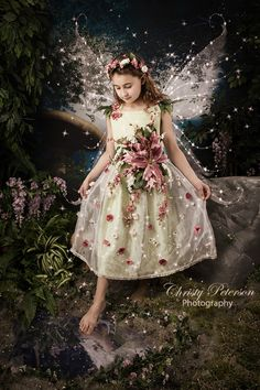 fairy photography by port orchard photographer half sepia (3)