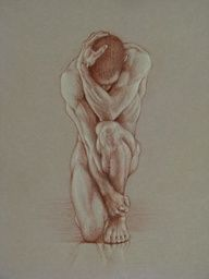 Naked drawings of nude boys, nude sketches of naked men.