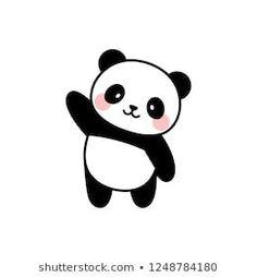 Portfólio de fotos e imagens stock de Gabriyel Onat Cute Easy Drawings, Cute Little Drawings, Cute Cartoon Drawings, Cute Kawaii Drawings, Cute Animal Drawings, 365 Kawaii, Panda Kawaii, Cute Panda Cartoon, Kawaii Cute
