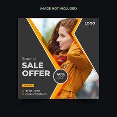 Fashion Tv, Fashion Sale, Graphic Design Brochure, Instagram Story, Instagram Posts, Sale Flyer, Sale Banner, Advertising Design, Identity Design