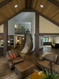 Traditional Staircase Loft Design, Pictures, Remodel, Decor and Ideas - page 2