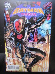 BATMAN AND ROBIN #4 - PHILIP TAN RED HOOD VARIANT DC COMICS - MORRISON - GLAPION