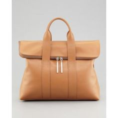 31-Hour Fold-Over Tote Bag, Nude - 3.1 Phillip Lim