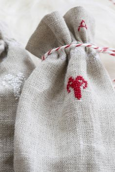 Idea for the linen bags