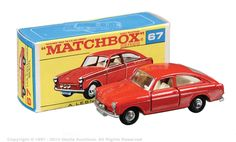Matchbox Regular Wheels No.67b Volkswagen 1600TL Fastback.