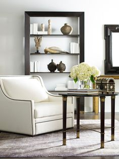 furniture-meubles: Alfonso Marina Y Compañia from Mexico. Luxury Furniture, Furniture Design, Bookcase Styling, Transitional Living Rooms, Home Accents, Interior Inspiration, Decorating Your Home, Dining Bench, Entryway Tables