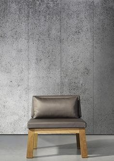 Concrete Wallpaper by Piet Boon & NLXL   Industrial concrete brought to elegant life with easy-to-apply and maintain wall coverings that fool the eye.