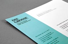 DIE GROSSE Kunstausstellung NRW - Branding by MORPHORIA DESIGN COLLECTIVE, via Behance