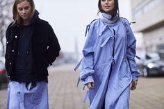 The Best Street Style At Copenhagen Fashion Week AW17   - ELLEUK.com