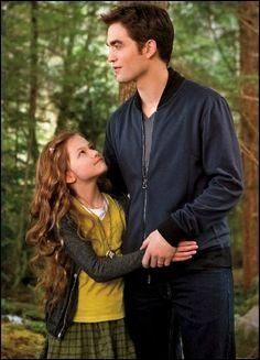 Twilight Saga: See The Pictures From ALL The Films Twilight: Breaking Dawn – Part 2 - Renesmee & Edward Cullen (Mackenzie Foy and Robert Pattinson)Twilight: Breaking Dawn – Part 2 - Renesmee & Edward Cullen (Mackenzie Foy and Robert Pattinson) Twilight Edward, Edward Bella, Quiz Twilight, Film Twilight, Twilight Renesmee, Vampire Twilight, Twilight Saga Series, Twilight Breaking Dawn, Breaking Dawn Part 2