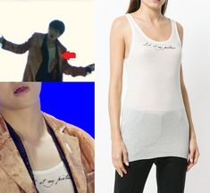 Taehyung Gucci, Athletic Tank Tops, Tank Man, Korea, Idol, Twitter, Mens Tops, How To Wear, Outfits