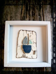 Framed Driftwood Beach Boat  (Available on Folksy.com, click if you're interested)