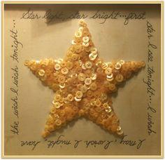 (::)  Star light, star bright...first star I see tonight...I wish I may, I wish I might, have the wish I wish tonight...