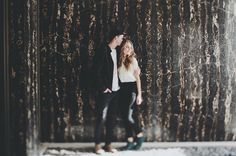 Salt Lake City engagement shot by Tyson French