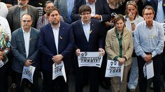 Catalonia's leaders should be jailed pending probe – Spain's state prosecutor  https://tmbw.news/catalonias-leaders-should-be-jailed-pending-probe-spains-state-prosecutor  Spain's state prosecutor has asked the national court to jail Catalonian secessionist leaders pending an investigation, Reuters reports.The prosecutor's office requested the jailing of Catalonian Vice-President Oriol Junqueras and seven other officials under charged with rebellion, sedition and embezzlement of public…
