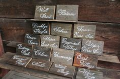 Reclaimed Wood Custom Sign. Choose your size. by BeeCuriousDesigns