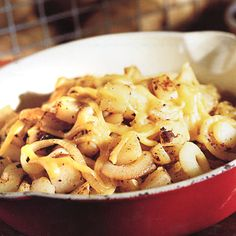 Chili-Fried Potatoes - Finally, the diabetic's answer to chili cheese fries. Olive oil is a healthy way to fake the fried food flavor. Using chili powder, onions, and a pinch of low-fat cheese creates a rich, zesty taste without fat or carbs.