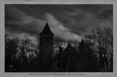 Castle, Clouds, gothic