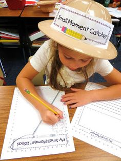 First Grade Wow: writing Love this for first/second grade writing small moments=personal narrative.