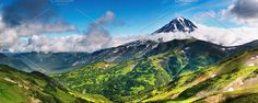 Mountain panorama. Nature Photos