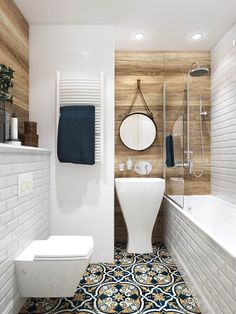 Most Attractive Eclectic Bathroom Decoration Ideas To Steal - Badezimmer - Bathroom Decor Zen Bathroom, Eclectic Bathroom, Steam Showers Bathroom, Bathroom Layout, Modern Bathroom Design, Bathroom Interior Design, Home Interior, Bathroom Storage, Bathroom Small