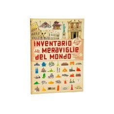 Inventario illustrato delle meraviglie del mondo, idea regalo se cerchi un libro per un bambino di 4 anni. 57 disegni di Emmanuelle Tchoukriel.