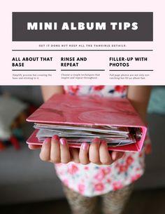 mini album tips